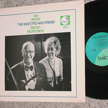 Marian McPartland lp record Halcyon