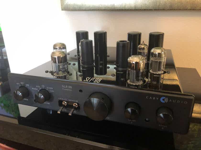 Cary Audio SLP-98p Black w/phono