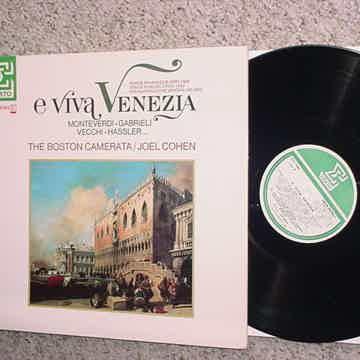 e viva Venezia lp record