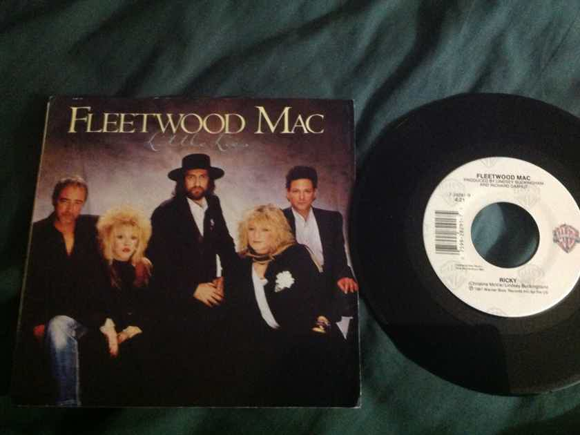 Fleetwood Mac - Little Lies/Ricky Warner Brothers Records 45 With Picture Sleeve Vinyl NM