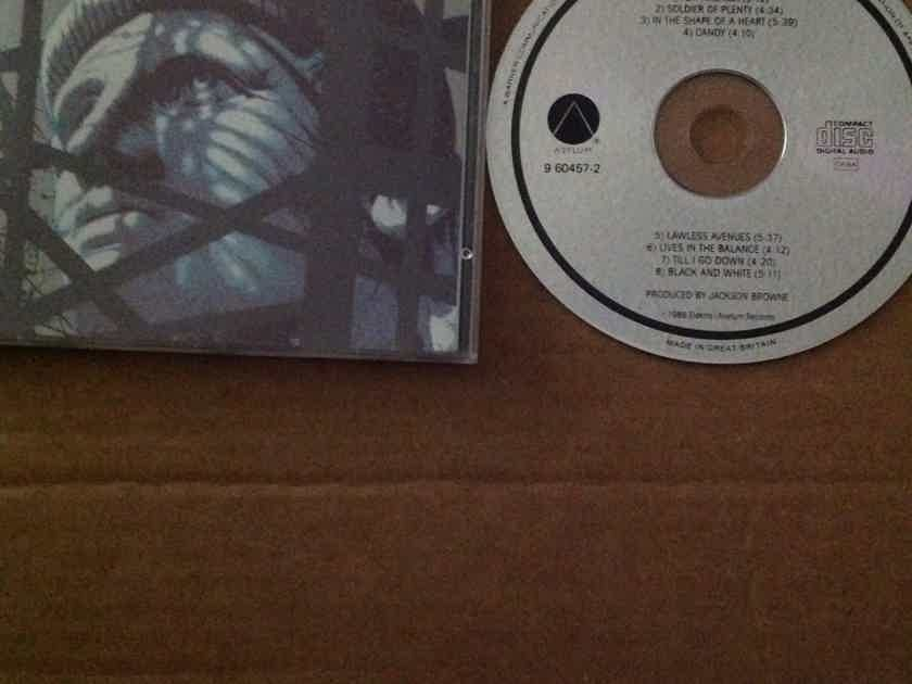 Jackson Browne - Lives In The Balance Asylum Records Great Britain Compact Disc