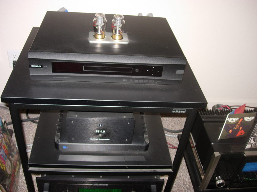 Oppo BDP-95 With Modwirght Tube Mod & PS 9.0 Power Supply