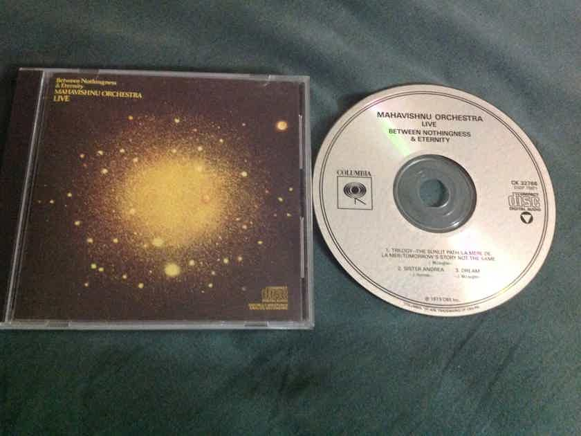 Mahavishnu Orchestra - Between Nothingness And Eternity Not Remastered Columbia Records Compact Disc