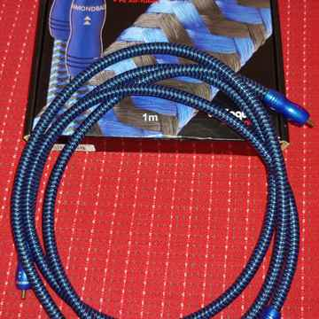 Diamondback 1M RCA Interconnects