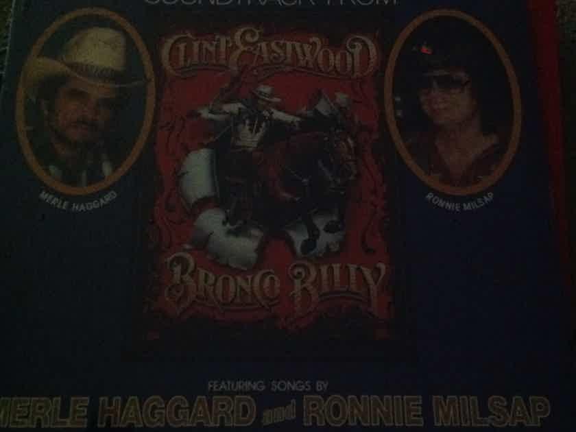 Merle Haggard & Ronnie Milsap - Bronco Billy Elektra Records Sealed Vinyl LP