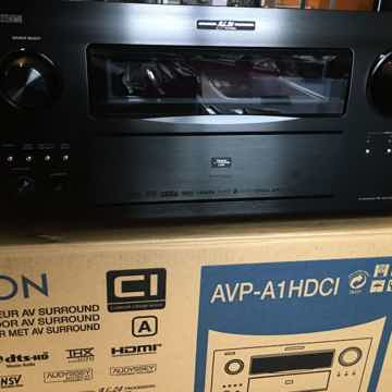 Denon AVP-A1HDCI with HDMI audio drop out issues UPGRADED MULTI EQ XT32 REFERENCE FULLY BALANCED Processor
