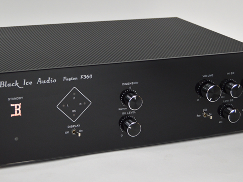 Black Ice Audio F360 Tube Hybrid preamplifier