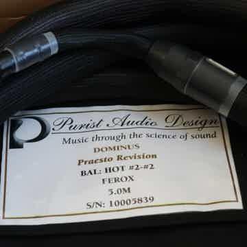 Purist Audio Design DOMINUS PRAESTO REVISION
