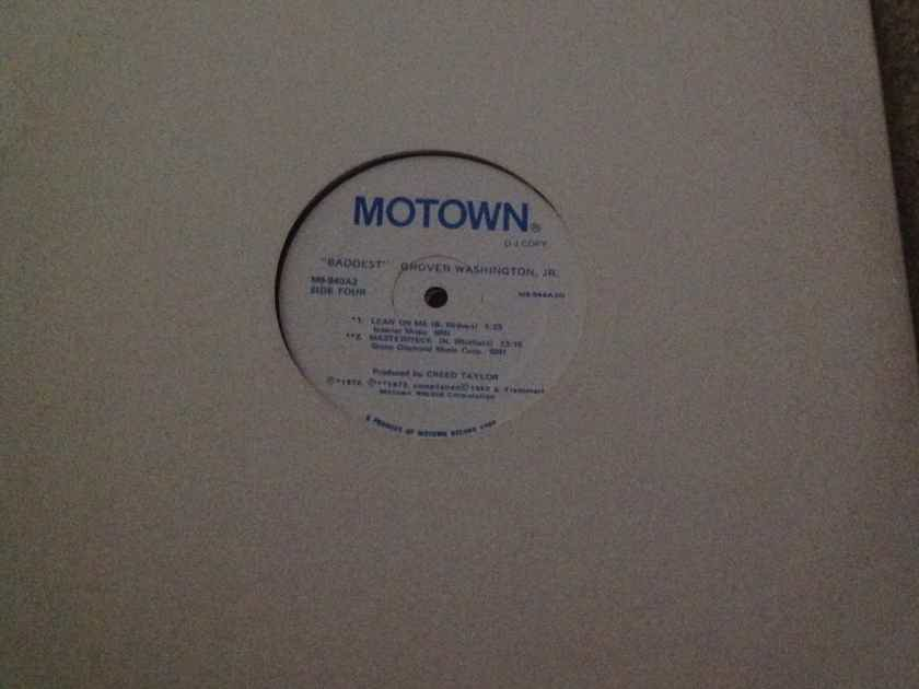Grover Washington Jr - Baddest 2LP Set Motown Records Promo Vinyl NM