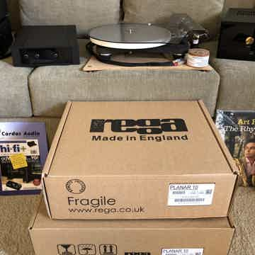 Rega Planar 10 With (or without) Kiseki Purple Heart MC...