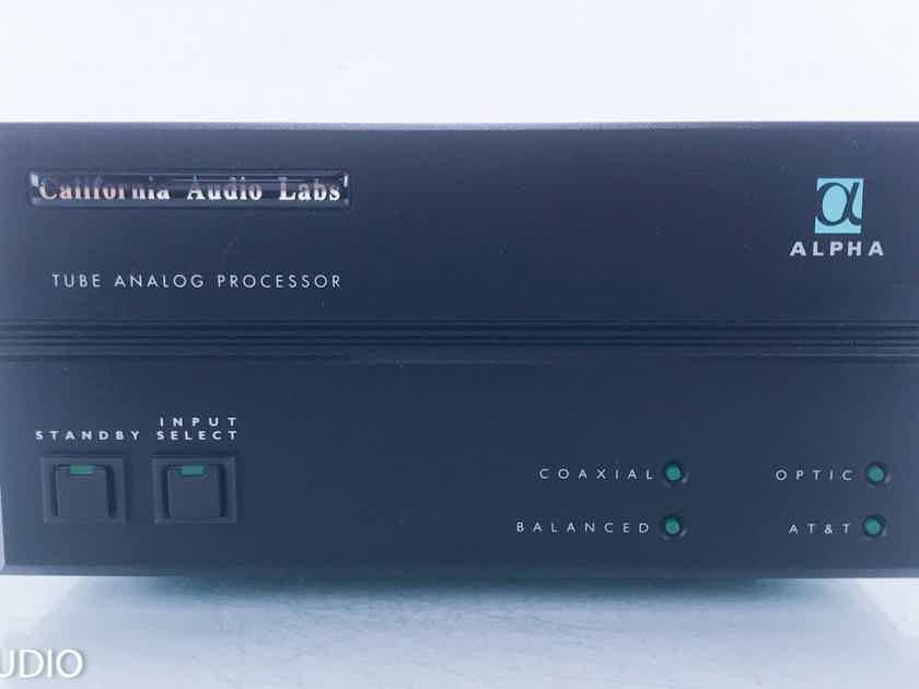 California Audio Labs Alpha Tube DAC D/A Converter; AS-IS (Relay Noise) (14803)
