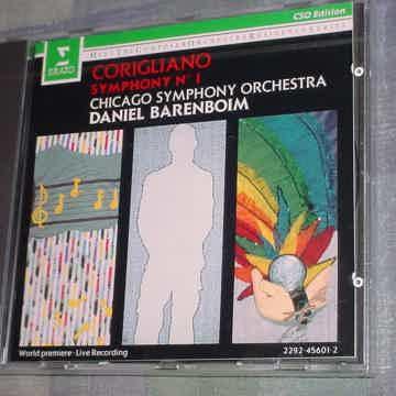 SEALED CD Erato cso edition BARENBOIM Corigliano Symphony no1 1991 Germany