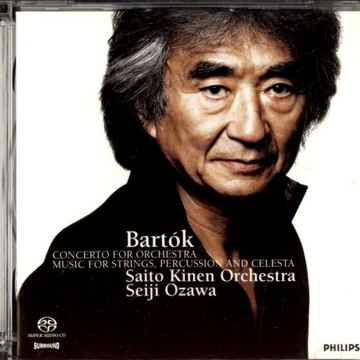 Music for Strings, Percussion and Celesta, SACD