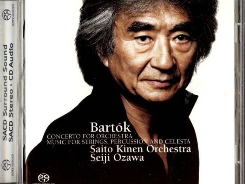 Bart¢k: Concerto for Orchestra Music for Strings, Percussion and Celesta, SACD