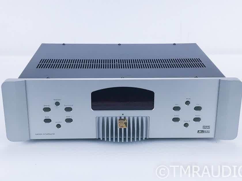SimAudio Moon Stargate 7.1 Channel Home Theater Processor; Preamplifier; Remote (16667)