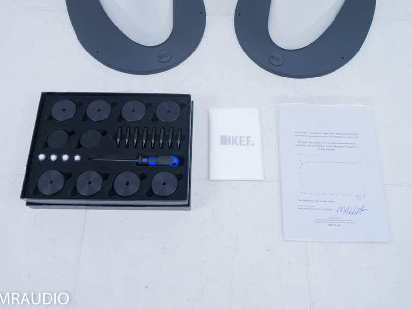 KEF Blade Two Floorstanding Speakers; Snow White Pair(11098)