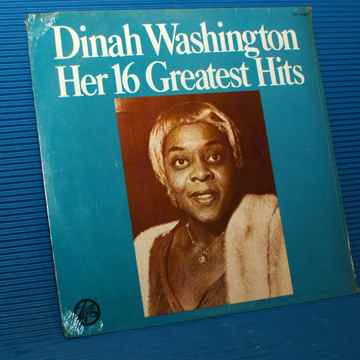 "DINAH WASHINGTON  ""Her 16 Greatest Hits"" -"