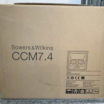 B&W (Bowers & Wilkins) CCM7.4