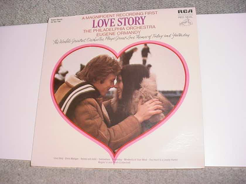 SEALED LP Record 1971 - Love Story  RCA RED SEAL LSC-3210 Dynaflex Philadelphia Orchestra Eugene Ormandy