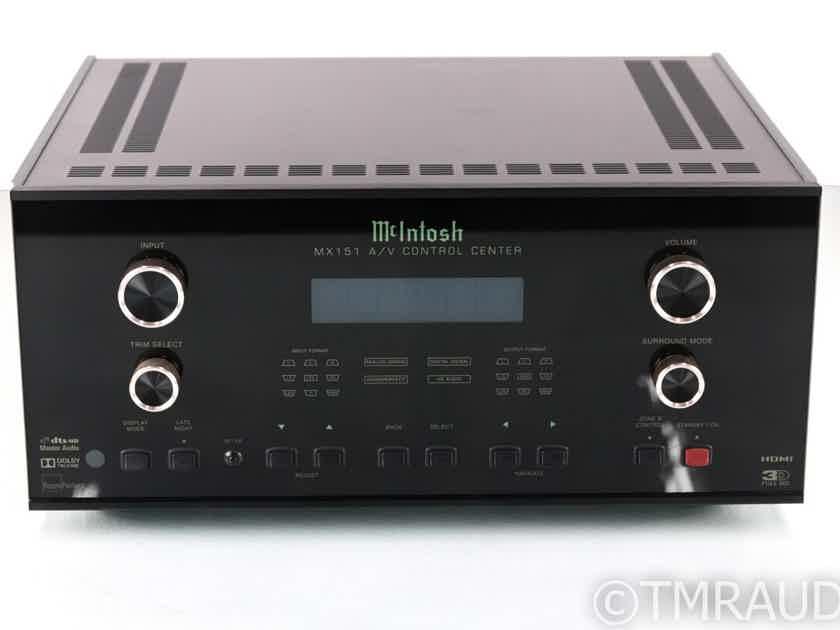 McIntosh MX151 7.1 Channel Home Theater Processor; MX-151; Remote (23806)