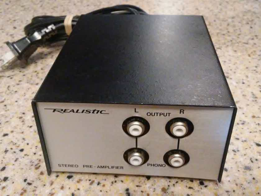 Realistic 42-2101a mm phono preamplifier upgraded audiophile