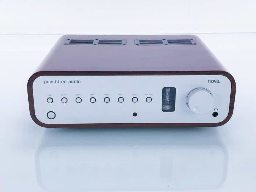 Peachtree Nova Stereo Tube Hybrid Integrated Amplifier; Remote (17230)