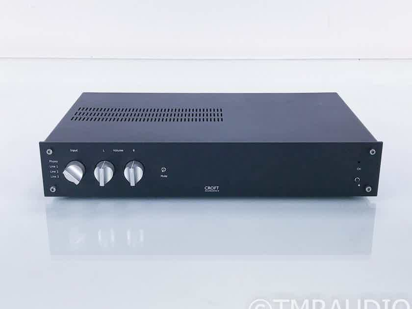 Croft Acoustics Phono Integrated Stereo Amplifier; MM Phono (17356)