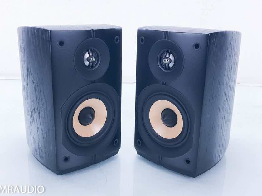 PSB Imagine Mini Bookshelf Speakers Black Pair (13913)