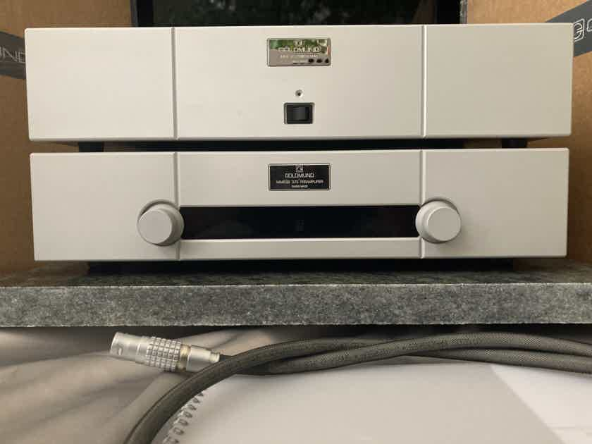 GOLDMUND Mimesis 37s Analogue Preamplifier from March 2017 (Lowered price)