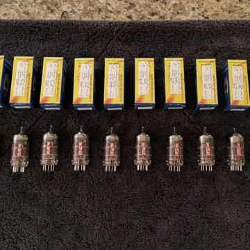 JJ Electronic 12ax7  E83CC Frame Grid tubes - NEW