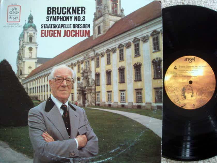 EMI Angel / JOCHUM, - Bruckner Symphony No.8, EX, 2 LP Set!