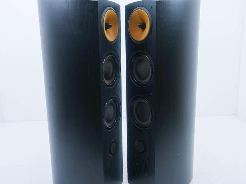 B&W Nautilus 803 Floorstanding Speakers Black Ash Pair (14139)