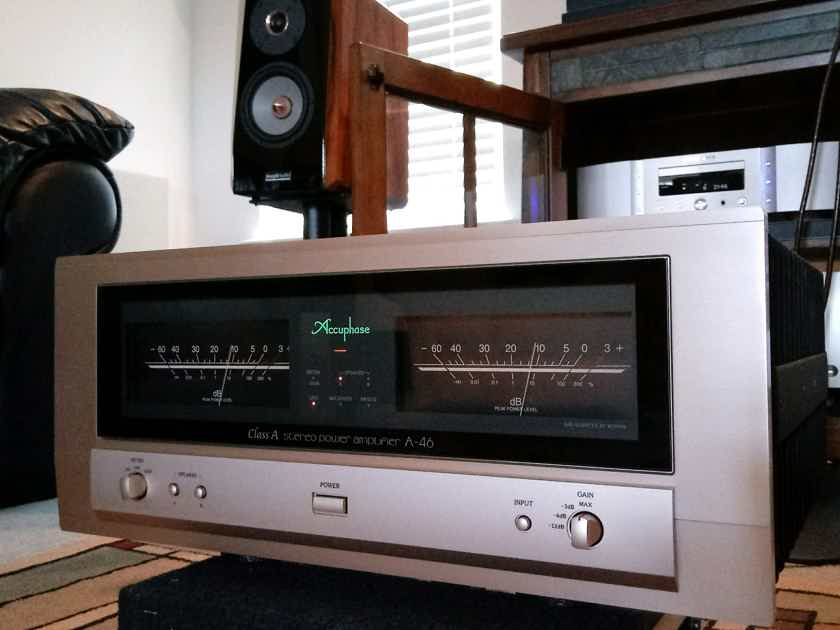 Accuphase A-46 Class A Power Amp US Voltage