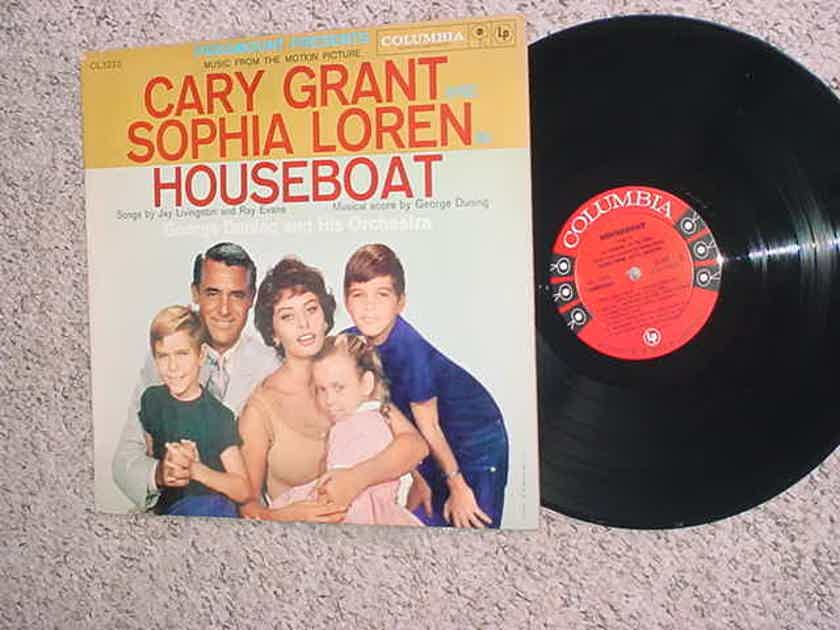 House Boat motion picture music lp record - George Duning and his orchestra  Cary Grant Sophia Loren