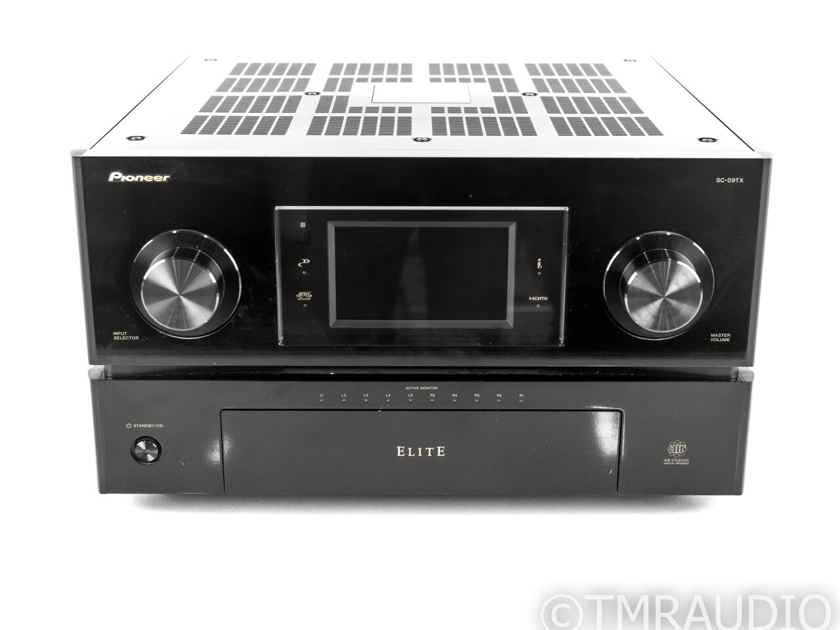 Pioneer Elite SC-09TX 10.2 Channel Home Theater Receiver; SC90TX; Remote (21081)