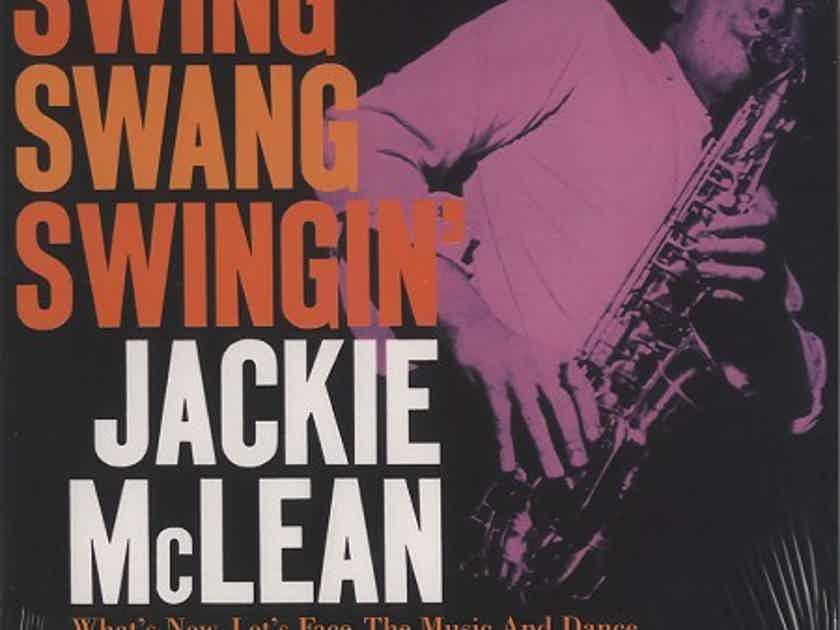 Jackie McLean - Swing Swang Swingin' - Music Matters (Blue Note)  2 LPs 45RPM  Numbered Limited Edition 180gram vinyl