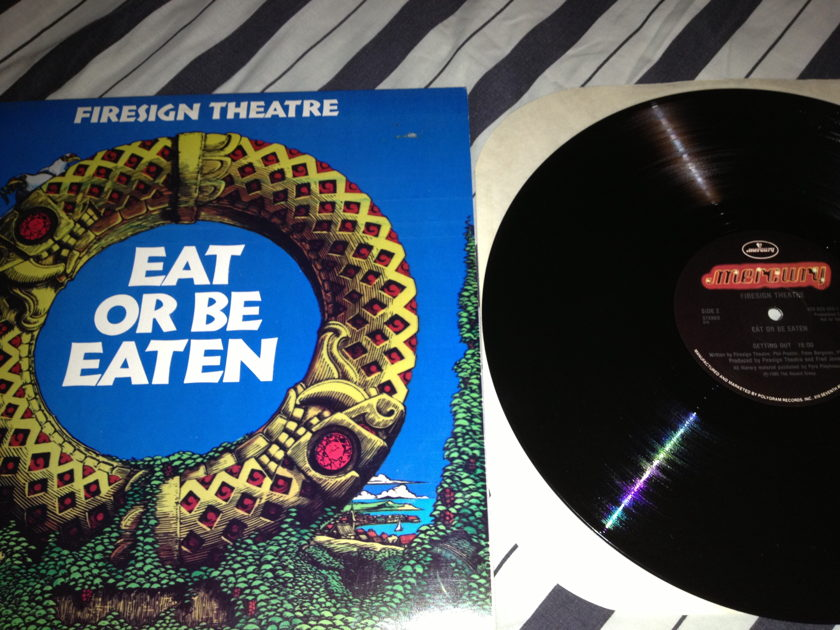 Firesign Theatre - Eat Or Be Eaten Promo LP NM Mercury Label
