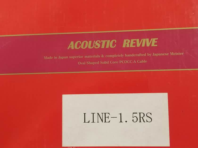 Acoustic Revive Line 1.5 RS 1.5 meter RCA cable