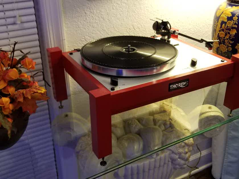 THORENS TD 166 MKII LIMITED HIGH END TURNTABLE SIMPLY AMAZING AND UNIQUE!