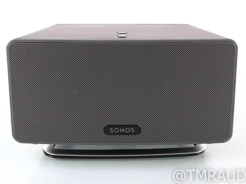 Sonos Play:3 Wireless Network Speaker; Black (28615)