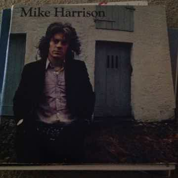Mike Harrison - Mike Harrison Island Records Pink Rim S...