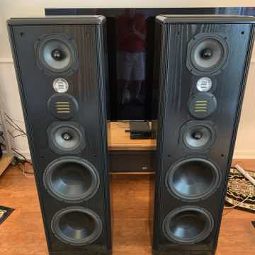 Legacy Audio Focus HD Black Oak Speakers with matching ...
