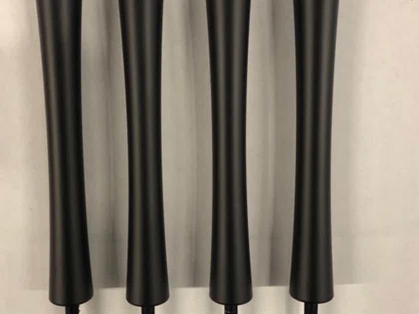 Quadraspire SVT Bamboo set of 8.5 inch Black Columns