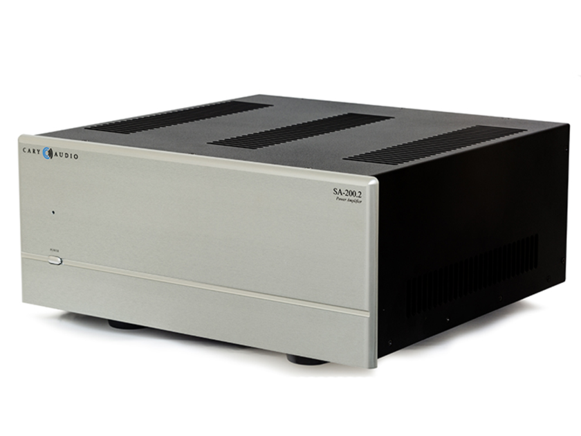 Cary SA-200.2 Stereo Power Amplifier Silver (New) (12808)