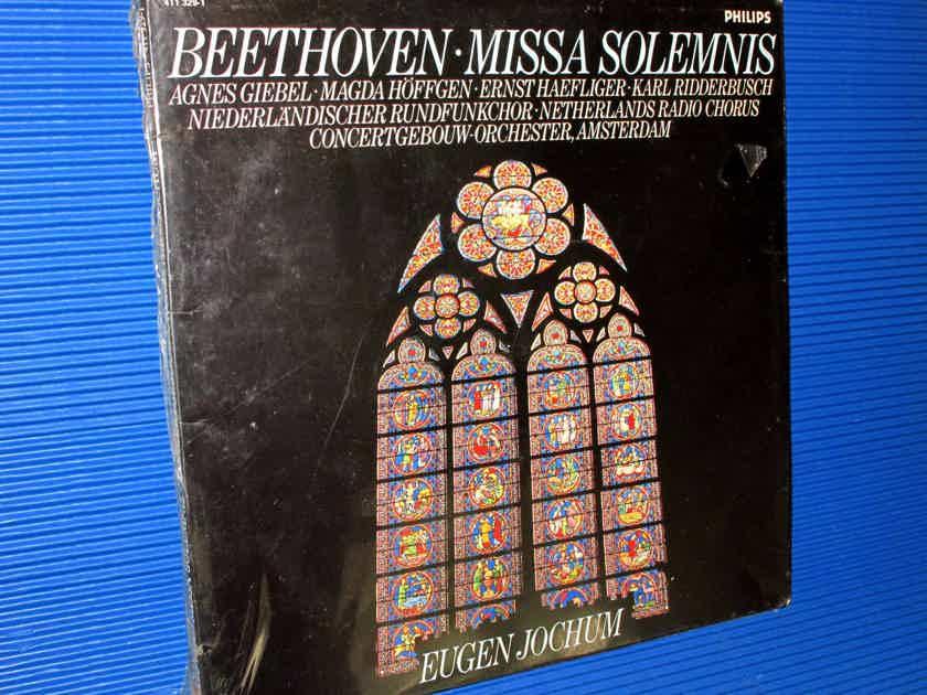 """BEETHOVEN / Jochum  - """"Missa Solemnis"""" -  Philips 1985 SEALED!"""