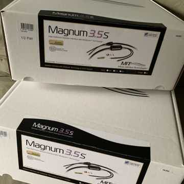 MIT 10' Speaker Cables Magnum 3.5S Spk  BONUS Includes ...