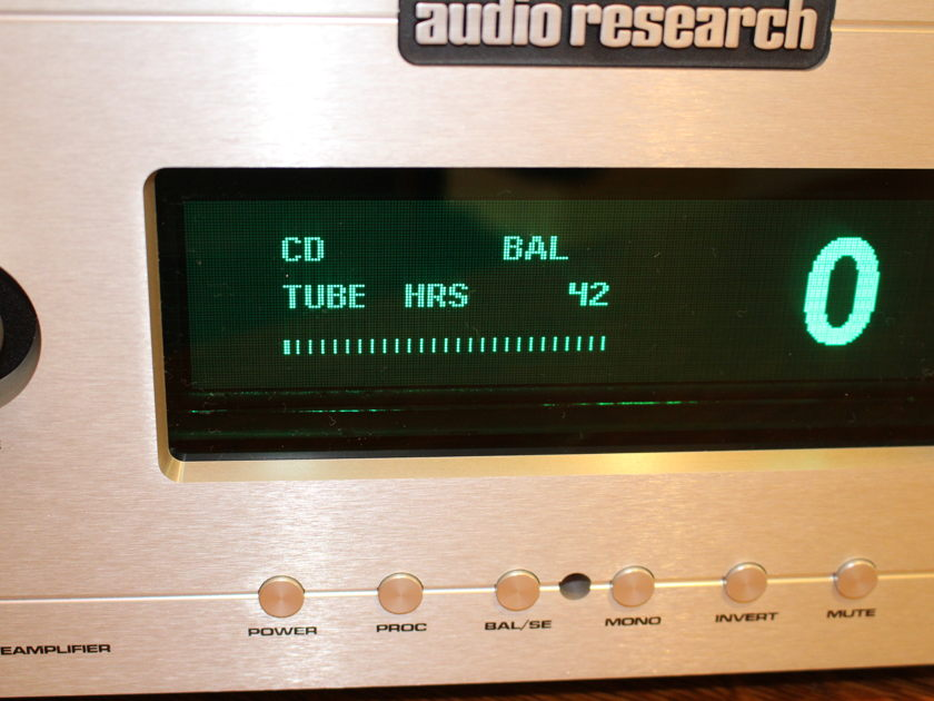 Audio Research Reference 5SE As New 42 Original Hours Silver