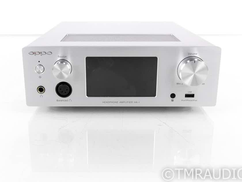 Oppo HA-1 Headphone Amplifier; HA1; Remote; Bluetooth (20105)