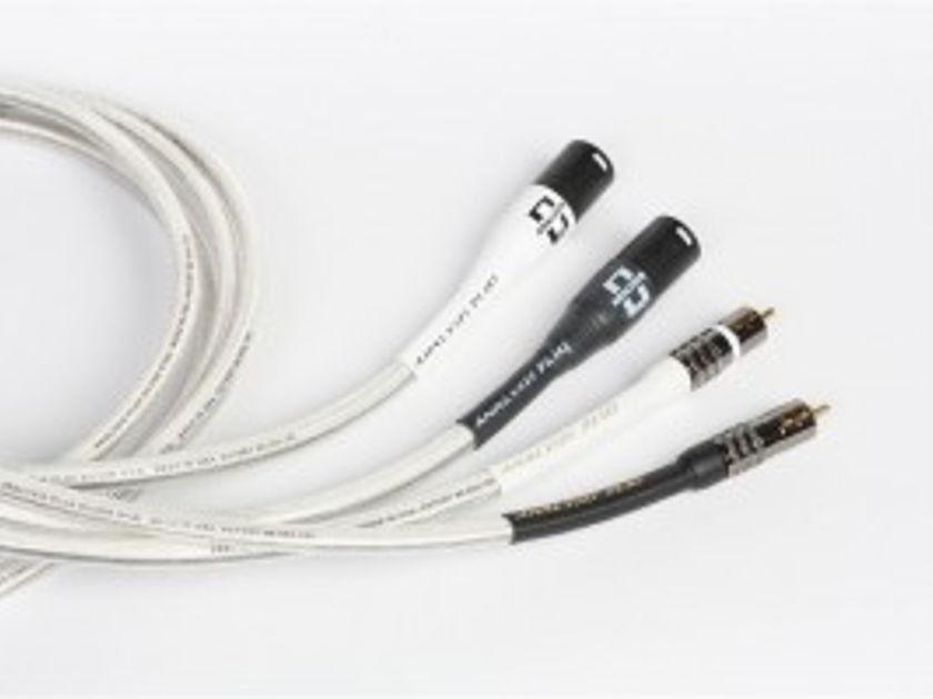 Analysis Plus Inc. Silver Oval-In W/RCA OR XLR 1M PR.