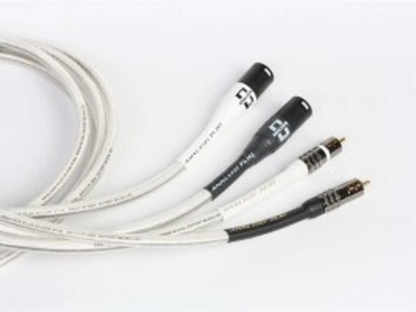 Analysis Plus Inc. Silver Oval-In W/RCA OR XLR 1M PR.